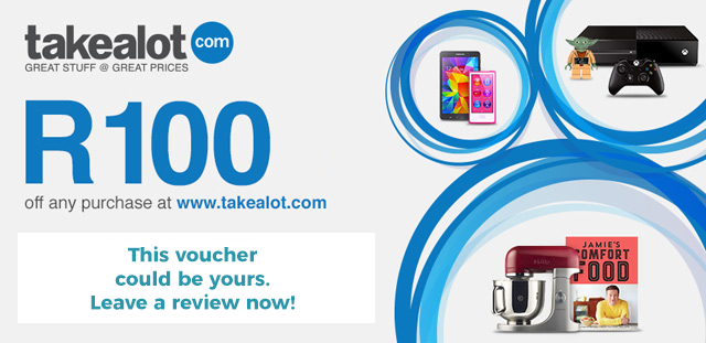 R100 Takealot voucher